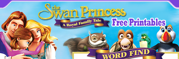 Swan Princess A Royal Family Tale Free Printables
