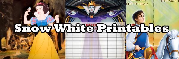 Snow White Printables SKGaleana