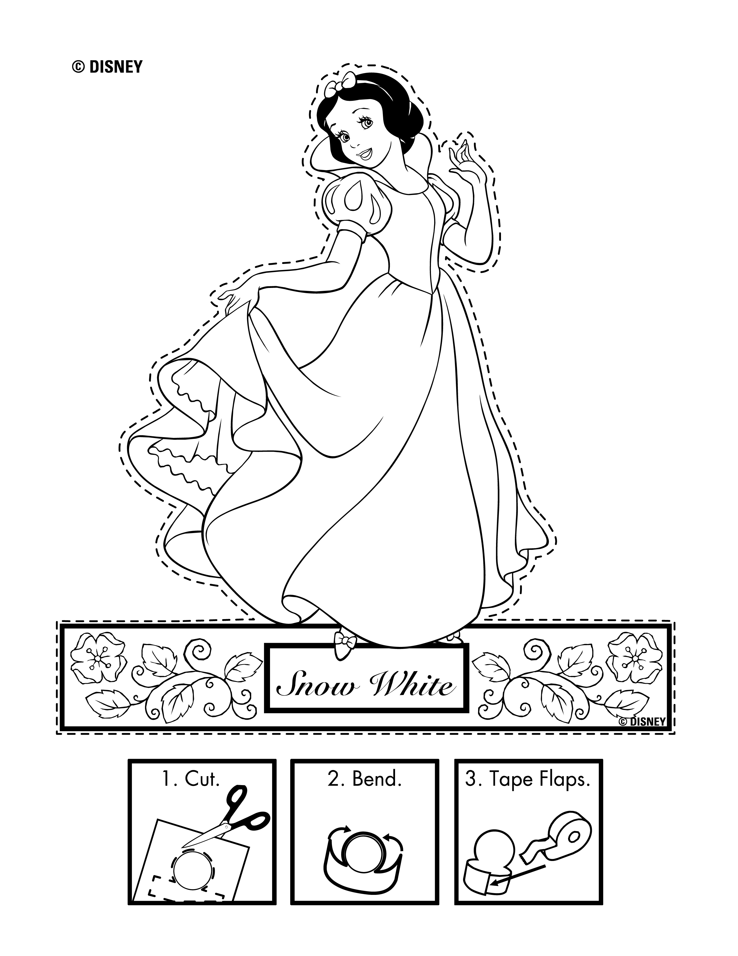 Disney Snow White Printables Coloring Pages And