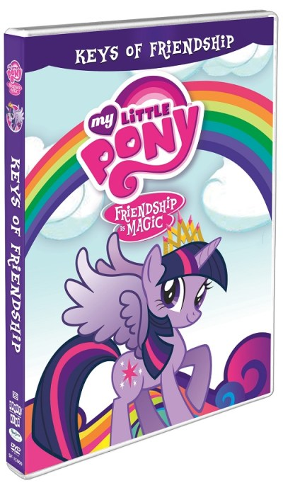 My little Pony Keys of Friendship DVD