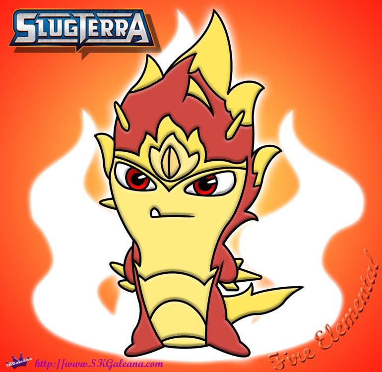 Answer 21 Fire Elemental SKGaleana