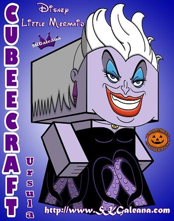 Ursula 3D Cubeecraft SKGaleana small
