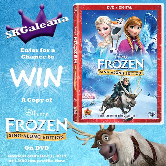 Frozen Singalong contest SKGaleana