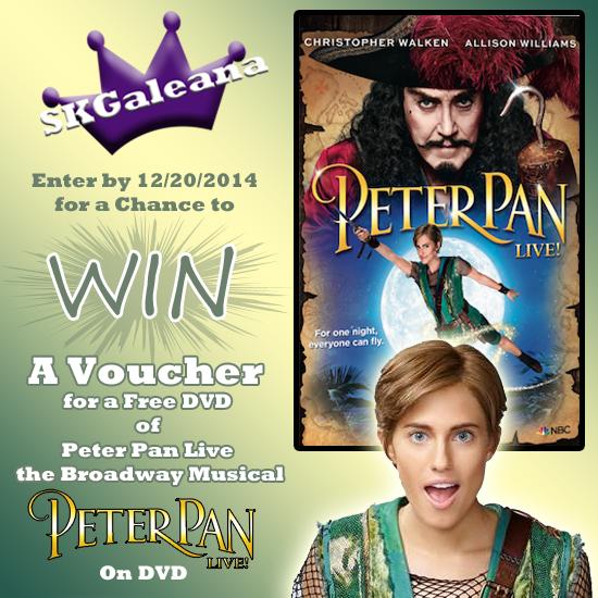 Peter Pan Live contest SKGaleana