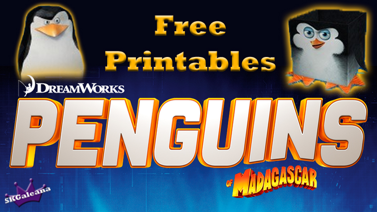 penguins printable S