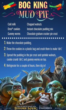 Strange Magic Mud Pie Recipe SKGaleana