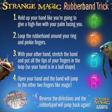 Strange Magic Rubberband trick SKGaleana