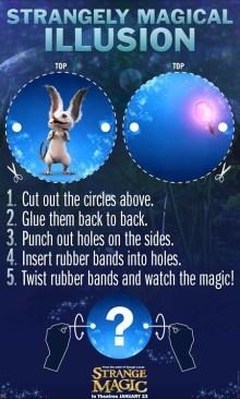 Strange magic Illusion SKGaleana