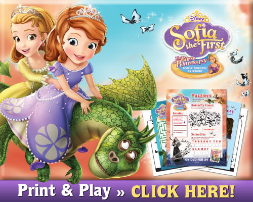 Sofia The First The Curse Of Princess Ivy Free Activity Pack Skgaleana