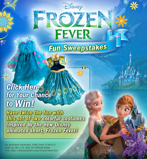 Frozen Fever Fun Sweepstakes