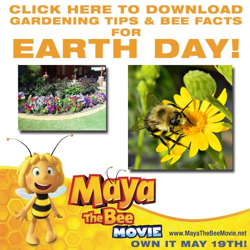 Earth day Maya the bee activity