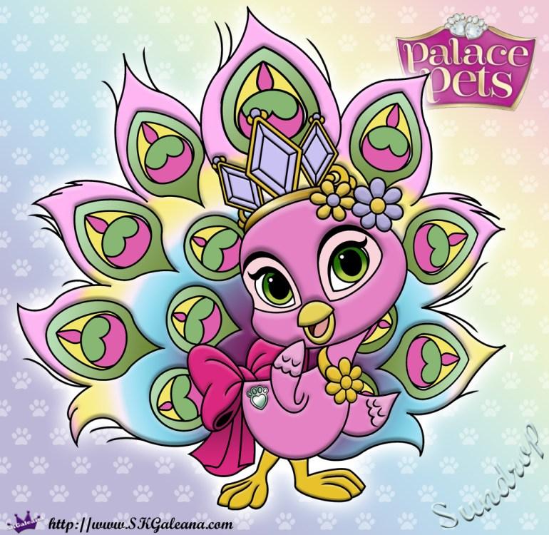 Sundrop coloring Page Princess Palace Pets SKGaleana image
