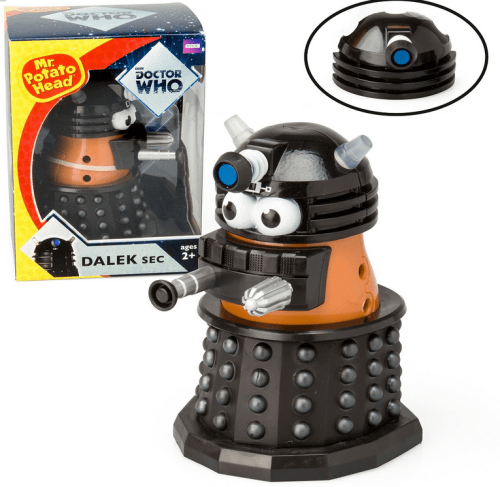 Doctor Who - Mr. Potato Head Dalek Sec - Black with Additional Head Piece