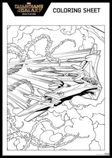 Free Guardian Of The Galaxy Printable Activities Coloring Pages And More Skgaleana