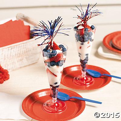 Patriotic Fruit Parfait Recipe
