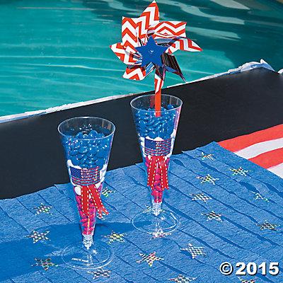 Patriotic Parfait Candy Cups Idea