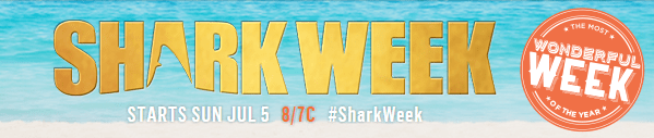 Shark Week Starts July 5
