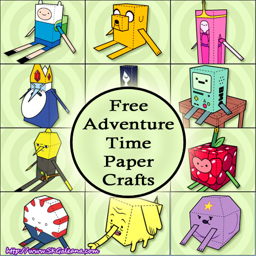 Adventure time printables and crafts