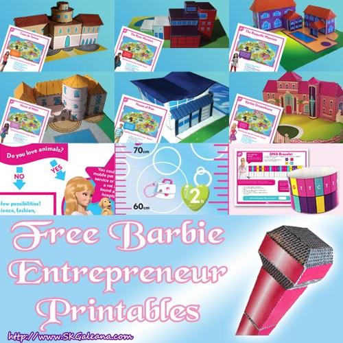 Barbie Entrepeneur Printables