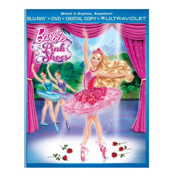 Barbie in the Pink Shoes Bliray-DVD-Digital-Ultra