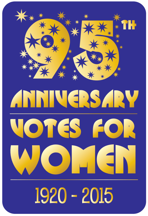 95th anniversary votes for women