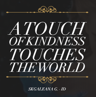 A touch of kindness Cinderella