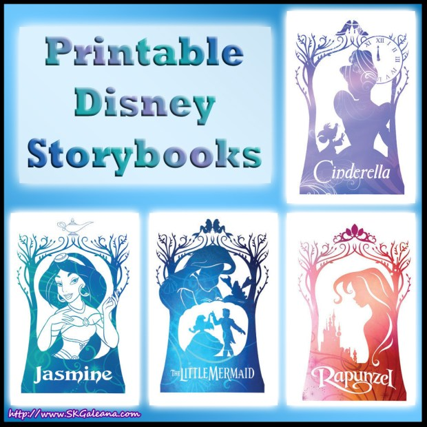 Printable Disney Storybooks