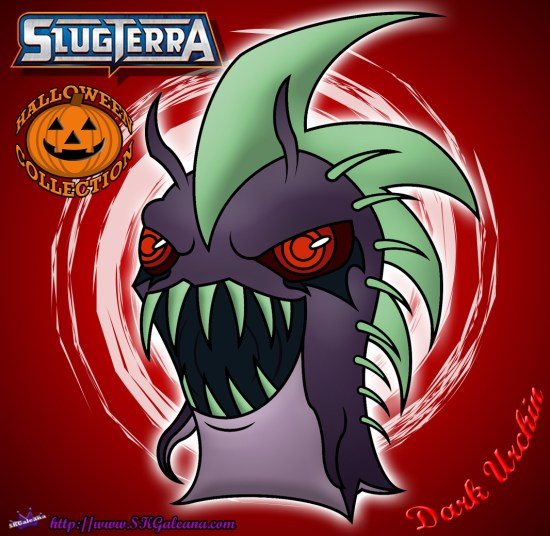 Halloween Dark Urchin Slug from Slugterra SKGaleana image