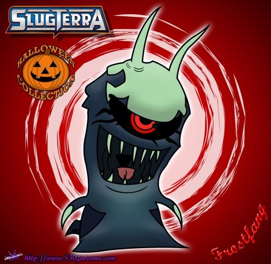 Halloween Frostfang coloring Page Slugterra SKGaleana image