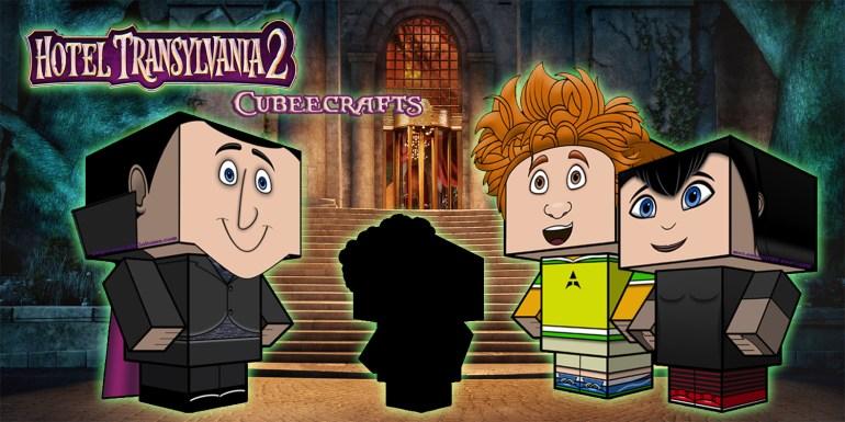 Hotel Transylvania 2 Cubeecraft poster3