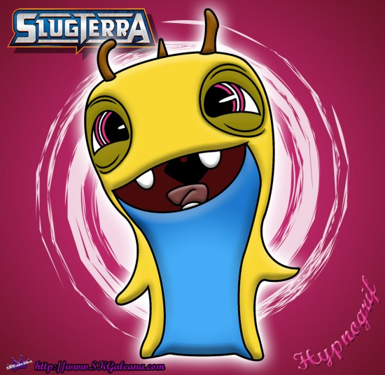 Hypnogrif coloring Page from Slugterra SKGaleana image