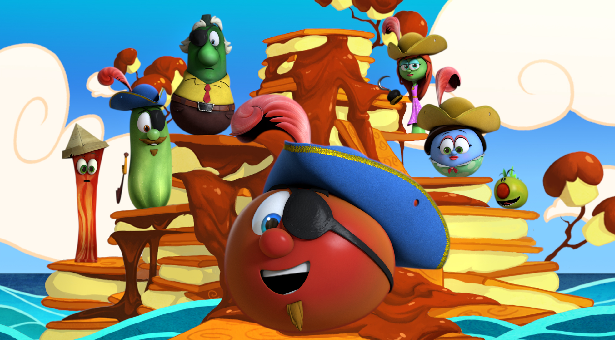 VeggieTales The Silly Ray / The Campout