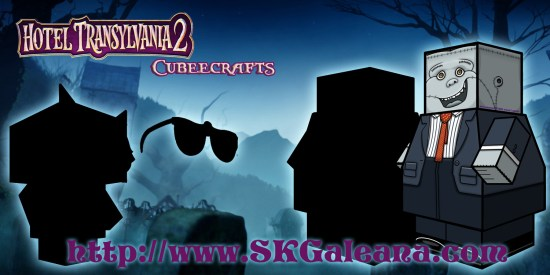 Hotel Transylvania 2 Cubeecraft poster monster1