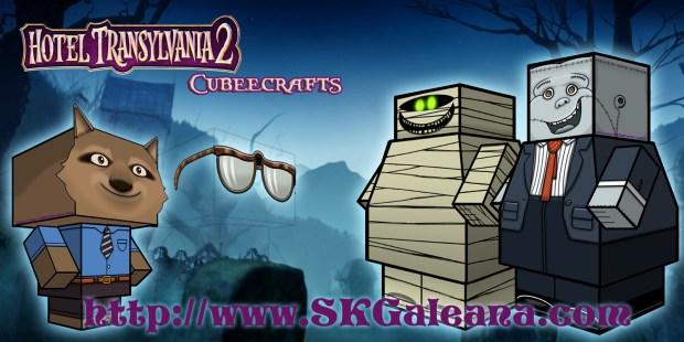 Hotel Transylvania 2 Cubeecraft poster11