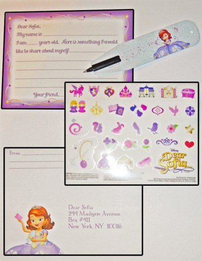 Sofia the First Dear Sofia Letter Kit