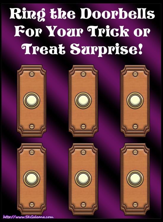 Trick or treat Doorbells