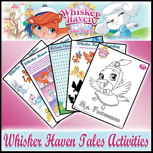 Whisker Haven Tales Activities