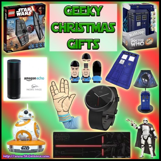 Geeky Christmas Gifts