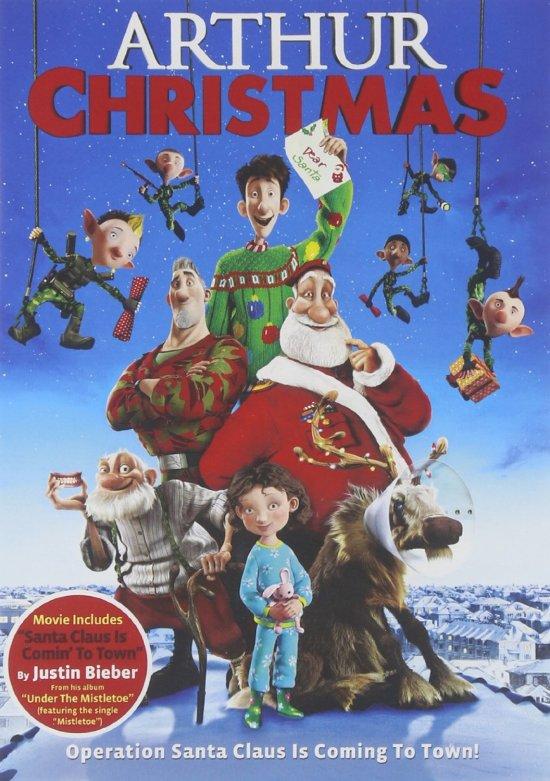 Arthur's Christmas DVD