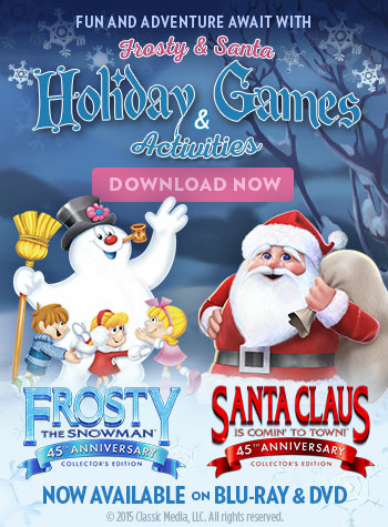 Frosty and Santa Activity Book