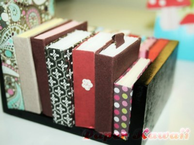 Paper Kawaii Mini Book Origami