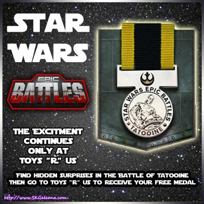 Toy r us medal Tatooine
