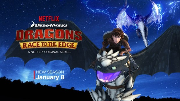 Dragons Race to the Edge season 2