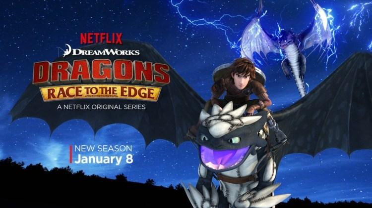 Dragons Race to the Edge season 2