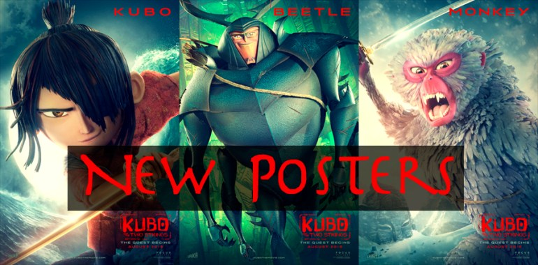 Kubo new posters