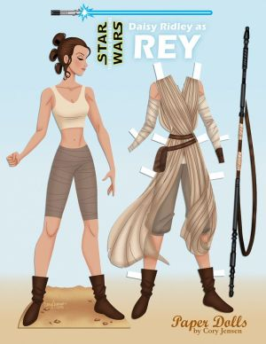 Rey Paper Doll by Cory part 1