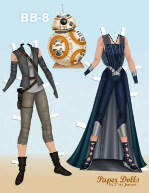 Rey Paper Doll by Cory part 2
