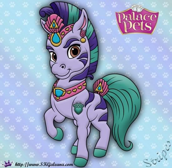 Stripes Princess Palace Pet SKGaleana image
