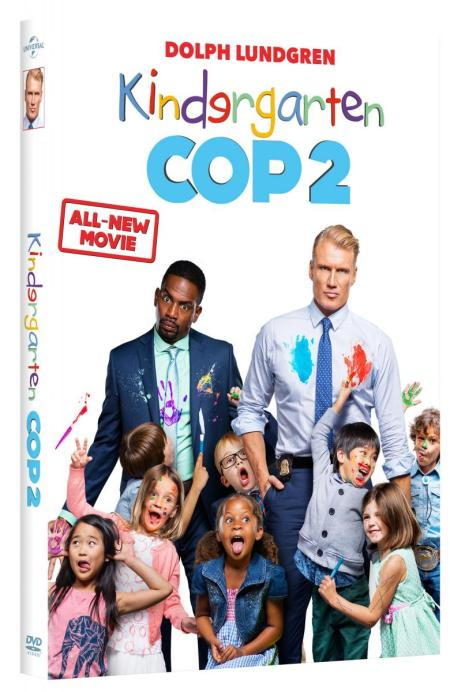 Kindergarten Cop 2 DVD SKGaleana