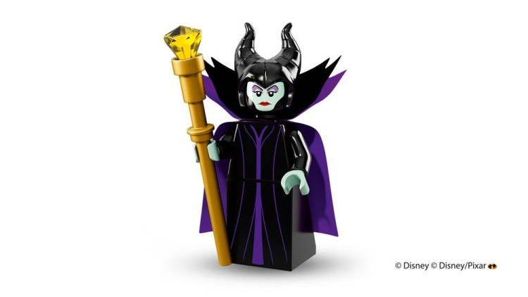 Sleeping Beauty - Maleficent Lego Minifigure